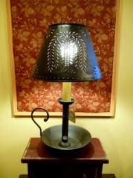 primitive lighting fixtures. Punched Tin Lamp Shade 1 Primitive Lighting Fixtures
