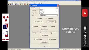 How To Prepare An Estimate Preparing Estimates Estimator 2 0 How To Prepare A Building