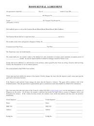Basic Rental Agreement Template Simple House Lease Agreement 58509 Simple Room Rental
