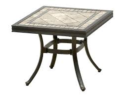 stone top patio table stone top outdoor dining tables excellent ideas tile top patio dining table