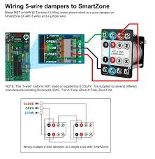 trol a temp zone damper wiring trol image wiring zoningsupply com zone control smartzone can be used any on trol a temp zone damper
