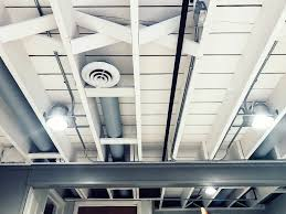 Exposed ceiling lighting basement industrial black Ideas Exposed Painted Basement Ceiling How To Paint Your Basement Ceiling Exposed painted First Thyme Mom Diy Painted Basement Ceiling Project First Thyme Mom