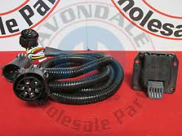 dodge ram wiring harness dodge ram 2500 3500 5th wheel gooseneck in bed wiring harness kit new oem mopar