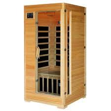 2 person infrared sauna. Brilliant Infrared Radiant Sauna 1 To 2 Person Hemlock Infrared With 4 Carbon Heaters To A