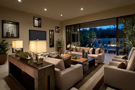 contemporary recessed lighting. Modern Console Table Decor Living Room Contemporary With Wall Recessed Lighting