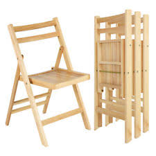 wooden folding chairs. Modren Wooden Set Of 4 Solid Wood Folding Chairs Slatted Seat Wedding Patio Garden  Furniture Inside Wooden