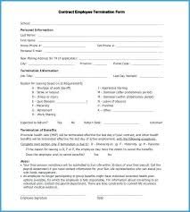 Employee Termination Templates Employee Termination Form Template Metabots Co