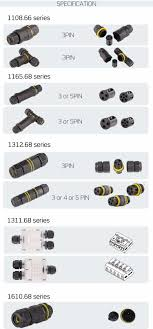 m8 m12 4 pin cable male female ac waterproof connector supplier plug electrical 220v for outdoor