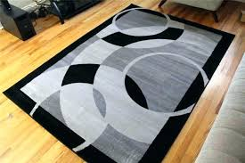 black and ivory striped rug black area rugs s white and striped rug black and