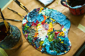 what do you need when ping for acrylic painting supplies