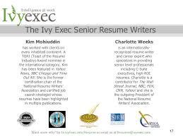 The Ivy Exec Senior Resume Writers