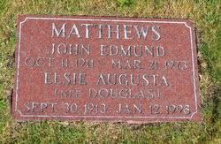 Elsie Augusta Douglas Matthews (1913-1998) - Find A Grave Memorial