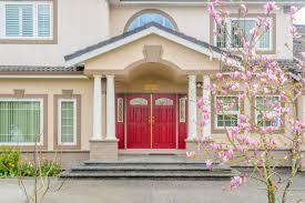 nice front doorsRed Doors on Houses