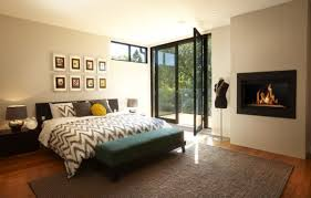 modern master bedroom with fireplace. Modern Bedroom Fireplace Idea Master With E