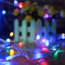 10m 33ft 100 Led 8 Modes Decoration Led Fairy String Lights Lamps