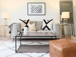 Modern Living Room On A Budget Budget Makeover A Complete Living Room Update For Under 1500