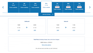 Avios Flight Reward Chart Your Guide To British Airways Award Chart Nerdwallet