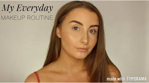 my everyday makeup routine with high end options ella cromey