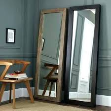 tall standing mirrors. Large Mirror Stand Floor Standing Up Mirrors . Tall D