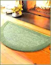 half round rug for kitchen semi circular rug half round rugs circle moon hearth small target