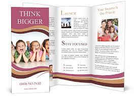 Fun Brochure Templates Children Having Fun Brochure Template