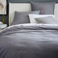 gray bedding west elm amanda lane tribal arrows dark gray cotton duvet cover queen 88