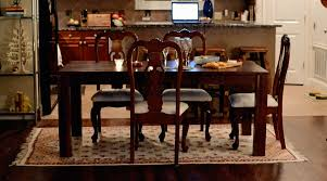 size rug dining table area rugs under dining table tennsat
