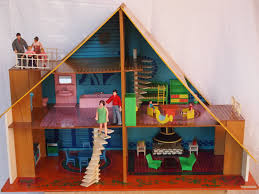 Chalet Dolls Houses By Rebecca Green Dolls Houses Past  Present - Dolls house interior
