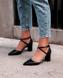 NEW Jo Mercer Iluka Mid Heels Leather Shoes | eBay
