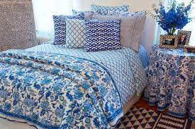 ROBERTA ROLLER RABBIT CORE BEDDING (16) | HOME | Pinterest ... & Whether used in a master bedroom, guest room or dorm, Roberta Roller  Rabbit's block print bedding in our blue Amanda pattern is simply a dream. Adamdwight.com