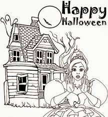 Small Picture Rapunzel Halloween Coloring Pages Halloween Wizard