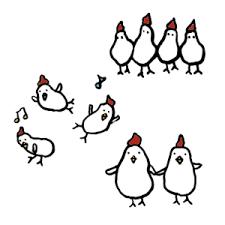 鶏鳥 のイラスト無料 イラストk