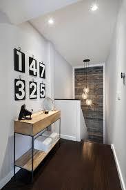 floor lighting hall. stairwell lighting hall contemporary with console table dark wood floor t