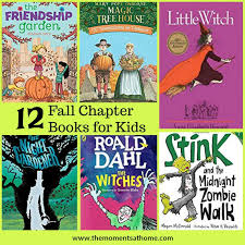 fall chapter books for kids and autumn themed books for kids