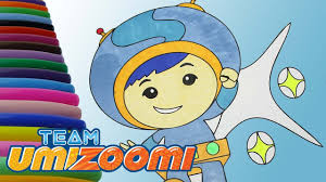 Team Umizoomi Geo Coloring Page Team