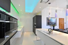 kitchen mood lighting. Manchester Mood Lighting With Glass Shade Kitchen Contemporary And Black White Pelmet