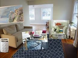 Navy Rug Living Room Cottage Style Living Rooms Chic Cottage Charm Living Room Living