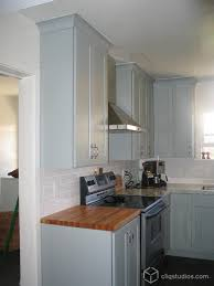 painted harbor kitchen cabinets shaker kitchen cabinets cliqstudios traditional kitchen