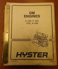 hyster forklift manual hyster forklift manual collection 899766 gm engines not all pictured
