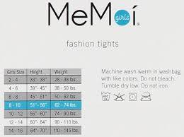 Memoi Girls Gazing Star Tights Mkf 4011