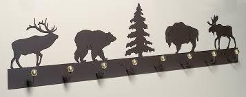 48 Coat Rack Northern Wildlife Coat Rack 100 Inch 41