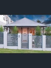 Small Picture Contemporary Front Fence Design Ideas Garden Pinterest Front