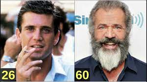 Mel Gibson From 8 to 61 years old - YouTube