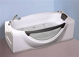 1800mm small portable hot tubs single person freestanding whirlpool tub with light