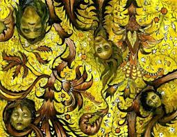 """The Lady Within """"The Yellow Wallpaper ..."""