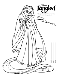 Small Picture disney tangled coloring pages printable Rapunzel Colouring Pages