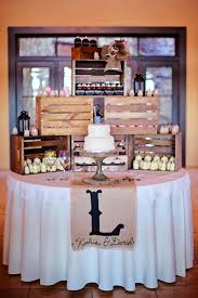 How To Display Cupcakes Without A Stand Gorgeous Gigi's Cupcakes Wedding Reception Cupcake Stands Rustic Wedding