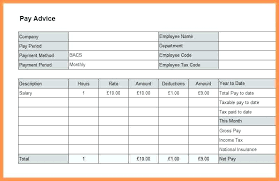 Employee Salary Slip Sample Stunning Monthly Payslip Template Uk Download Corporate Salary Slip Excel