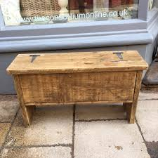 rustic storage bench. Fine Storage Small Rustic Storage Bench On