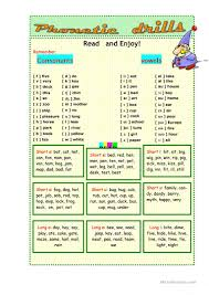 A spelling alphabet is a set of words used to stand for the letters of an alphabet in oral communication. Phonetic Drills English Esl Worksheets For Distance Learning And Physical Classrooms